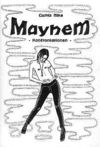 Cover des Gedichtbandes Mayhem