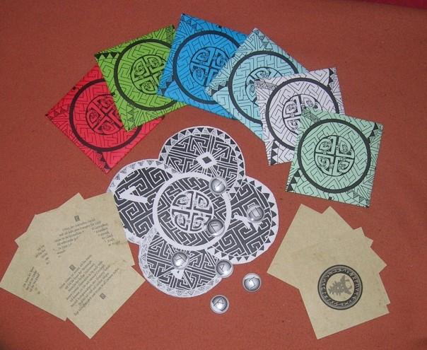 Diese Runenbriefe fanden im Runenworkshop Verwendung.