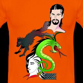 T-Shirt 'Loki und die Weltenfeinde'