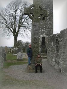 Mit meinem Vater zusammen am großen Hochkreuz.