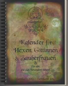 Cover des ersten Kalender für Zauberfrauen.