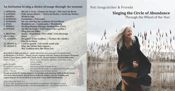 CD Cover und Backcover