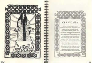 Manch eine Göttin oder Zaubergestalt kann einem im Inneren des Kalenders begegenen!