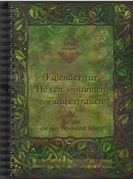 Das Cover des Hexenkalenders.