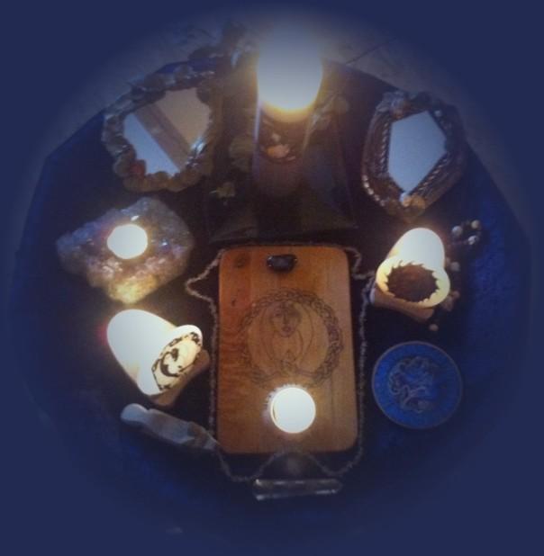 Altar der Göttin Hel
