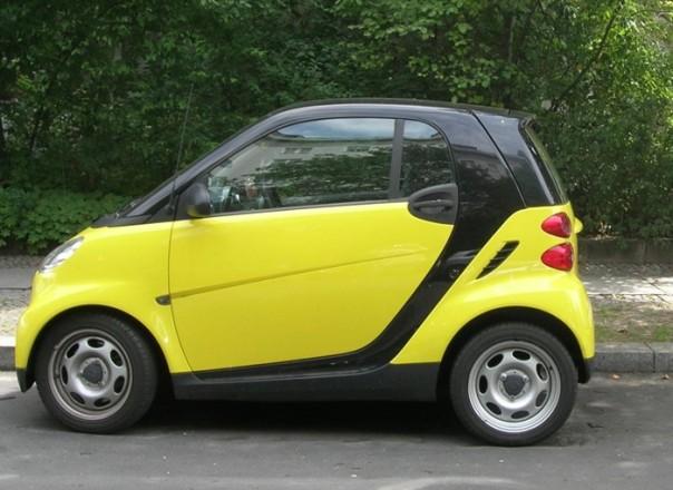 Das Hexenfahrzeug erscheint Muggeln als Auto.