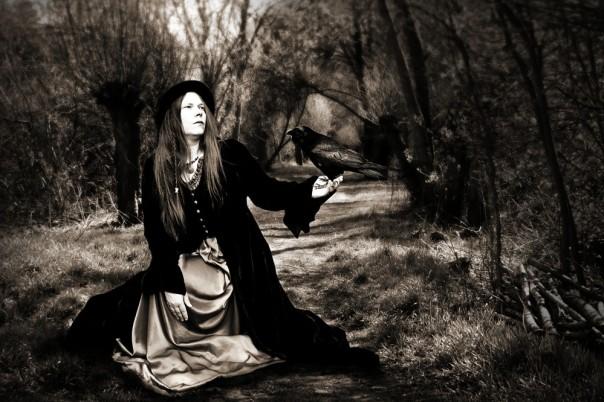 Die Raben gelten in der nordischen Mythologie als Boten Odins.