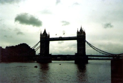 Die Tower Bridge, 1983, Foto: Edelgard