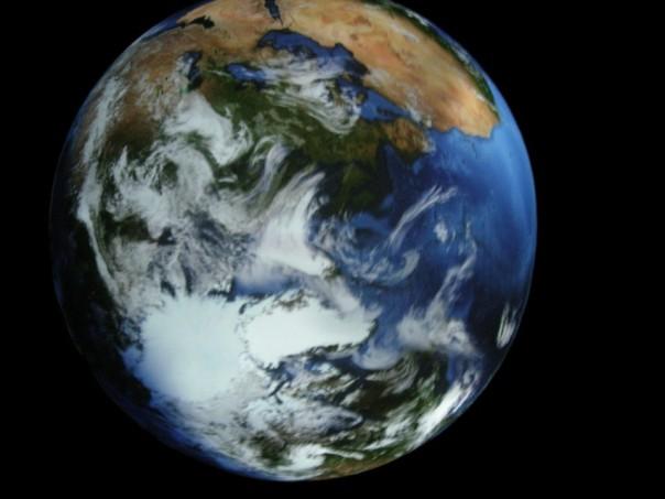 Ein atemraubender Anblick: Unser Planet Erde