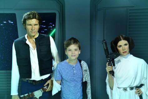 Pietje überragt Leia inzwischen fast. In drei Jahren hat er Han eingeholt.