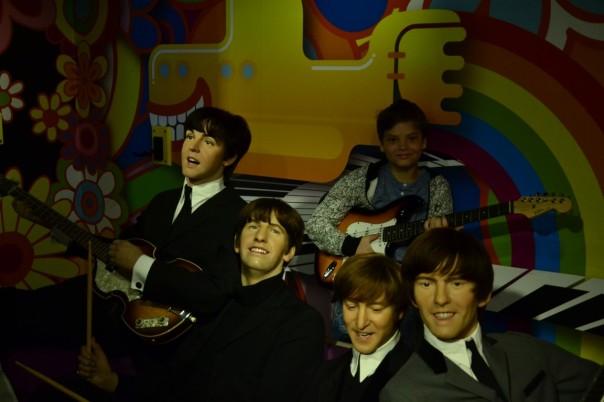 Der fünfte Beatle war offenkundig ein Zeitreisender.