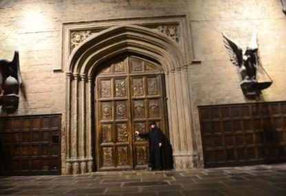 Die Eingangspforte zur großen Halle.