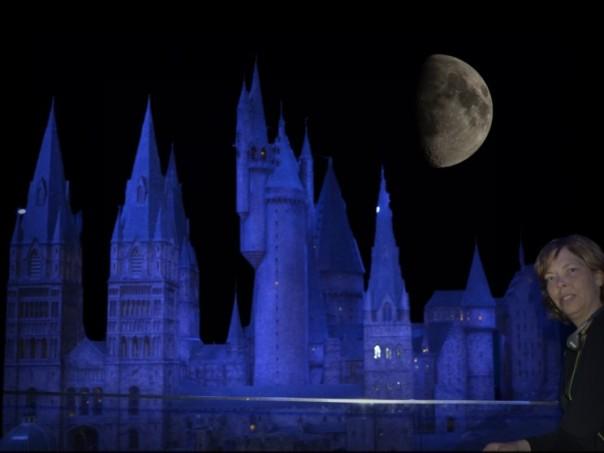 """""""Leb wohl Hogwarts!"""" - in den Nachtstunden ging es wieder nach Hause."""