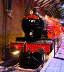 Der Hogwarts Express stand bereits für uns bereit.