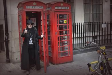 Telefonzellen erfüllen mancherlei interessante Funktion - Besuchereingang zum Zaubereiministerium.